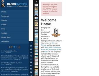 habboemotion.com screenshot