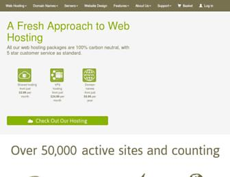 Thumbshot of Ecowebhosting.co.uk