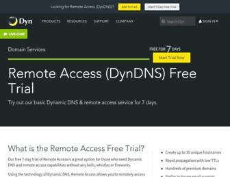 Thumbshot of Dyndns.info