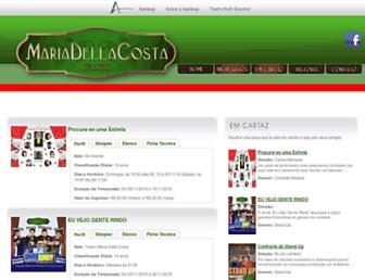 Thumbshot of Teatromariadellacosta.com.br