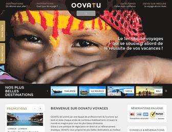oovatu.com screenshot