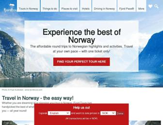 fjordtours.com screenshot