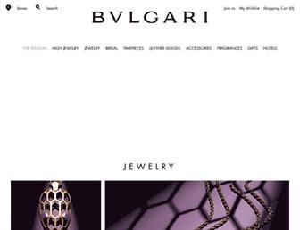 bulgari.com screenshot
