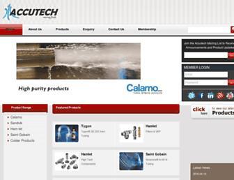 accutech.com.sg screenshot