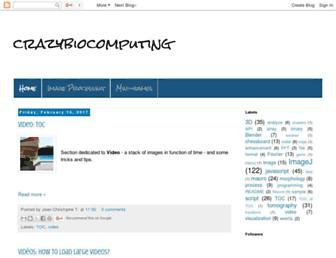 crazybiocomputing.blogspot.com screenshot