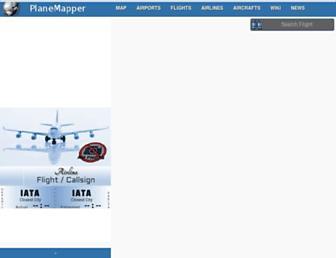 planemapper.com screenshot