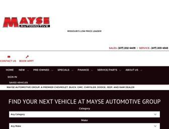 mayse.com screenshot