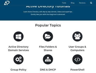 activedirectorypro.com screenshot