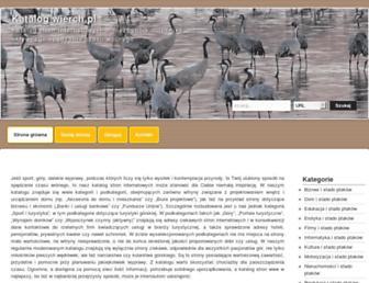 Main page screenshot of wierch.pl