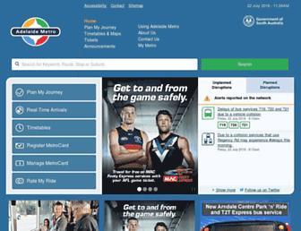 Thumbshot of Adelaidemetro.com.au