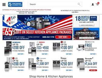 appliancesconnection.com screenshot