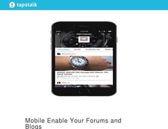 tapatalk.com screenshot