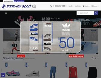 samuraysport.com screenshot