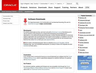 download.virtualbox.org screenshot