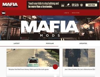 mafiamods.com screenshot