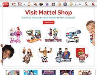 Thumbshot of Mattel.com