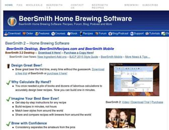Thumbshot of Beersmith.com
