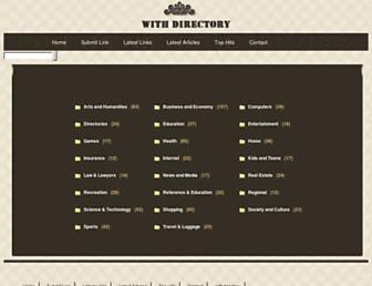 Thumbshot of Withdirectory.com