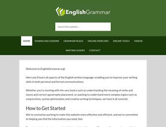 Thumbshot of Englishgrammar.org