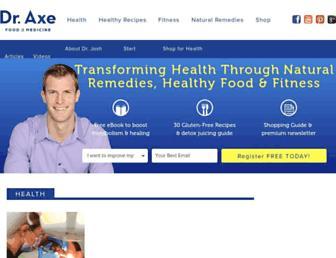 draxe.com screenshot