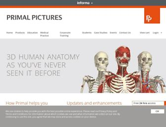 primalpictures.com screenshot