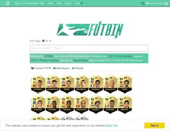 futbin.com screenshot