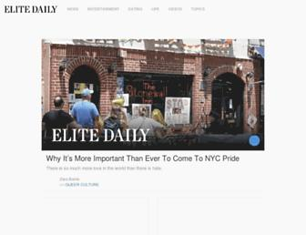 Thumbshot of Elitedaily.com