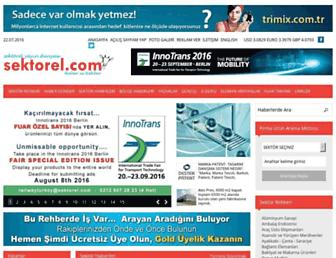 sektorel.com screenshot