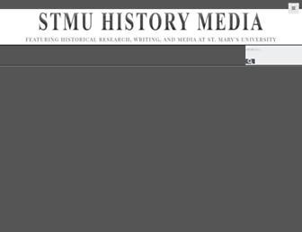 stmuhistorymedia.org screenshot