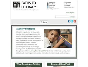 pathstoliteracy.org screenshot
