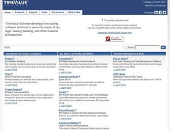 timevalue.com screenshot