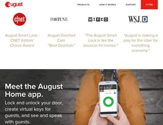 Thumbshot of August.com