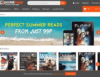 pocketmags.com screenshot