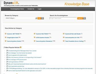 kb.dynamsoft.com screenshot