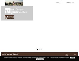 Thumbshot of Casamuseugaudi.org