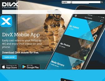 divx.com screenshot