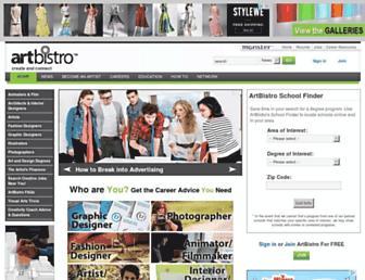 artbistro.monster.com screenshot