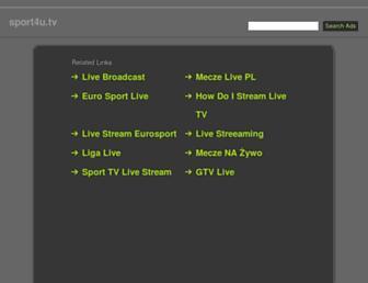 sport4u.tv screenshot