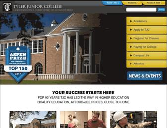 Thumbshot of Tjc.edu