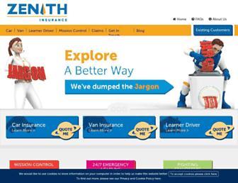zenith-insure.com screenshot