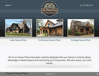 maxhouseplans.com screenshot