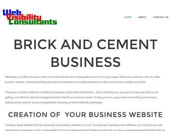 Thumbshot of Webvisibilityconsultants.co.za