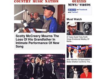 Thumbshot of Countrymusicnation.com