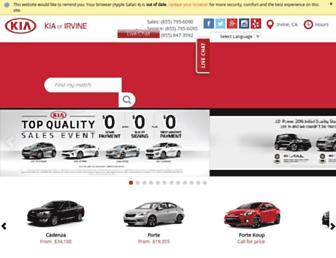 kiaofirvine.com screenshot