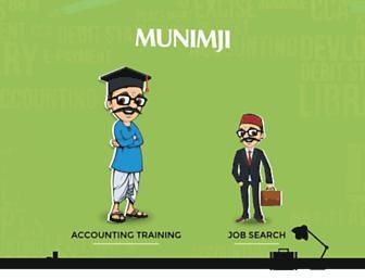munimji.co.in screenshot