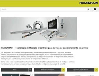 heidenhain.com.br screenshot