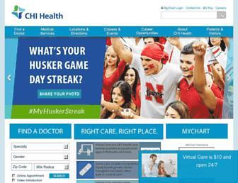 chihealth.com screenshot
