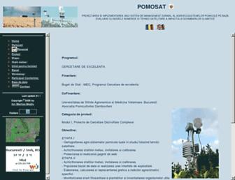 pomosat.ro screenshot