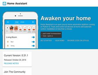home-assistant.io screenshot