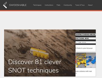 swooshable.com screenshot
